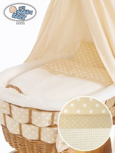 Cover set 4 pcs for Wicker crib Isabella no. 50202-910* or 70202-910*