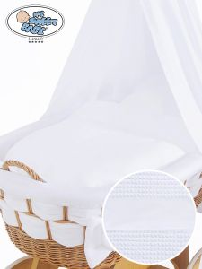 Cover set 4 pcs for Wicker crib Bianca no. 50202-911* or 70202-911*