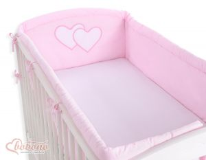 Universal bumper XXL- Hanging Hearts pink