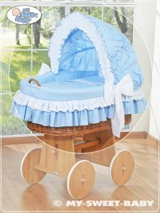 Cover set 4 pcs for Moses Basket/Wicker crib no. 58962-109 or 78962-109