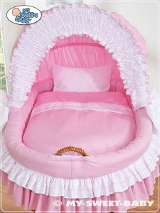 Bedding set 2-pcs for Moses Basket/ Wicker crib no. 58962-119 or 78962-119