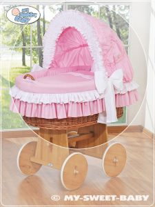 Cover set 4 pcs for Moses Basket/Wicker crib no. 58962-119 or 78962-119