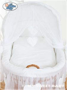 Bedding set 2-pcs for Moses Basket/ Wicker crib no. 58962-123 or 78962-123