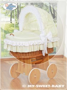 Cover set 4 pcs for Moses Basket/Wicker crib no. 58962-135 or 78962-135