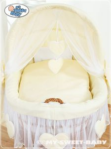 Bedding set 2-pcs for Moses Basket/ Wicker crib no. 58962-142 or 78962-142