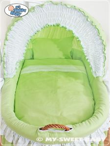Bedding set 2-pcs for Moses Basket/ Wicker crib no. 58962-207 or 78962-207