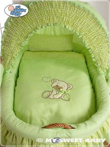 Bedding set 2-pcs for Moses Basket/ Wicker crib no. 58962-322 or 78962-322