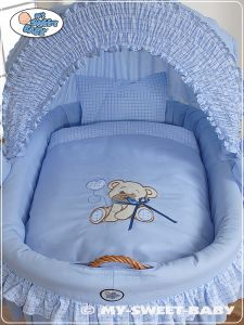 Bedding set 2-pcs for Moses Basket/ Wicker crib no. 58962-323 or 78962-323