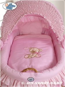 Bedding set 2-pcs for Moses Basket/ Wicker crib no. 58962-324 or 78962-324