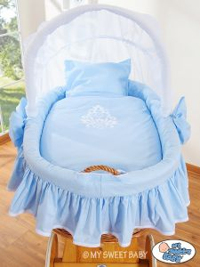 Bedding set 2-pcs for Moses Basket/ Wicker crib no. 58962-421 or 78962-421
