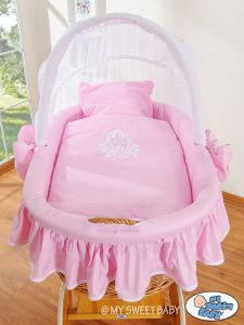 Bedding set 2-pcs for Moses Basket/ Wicker crib no. 58962-422 or 78962-422