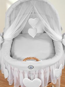 Bedding set 2-pcs for Moses Basket/ Wicker crib no. 58962-523 or 78962-523