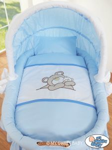 Bedding set 2-pcs for Moses Basket/ Wicker crib no. 58962-801 or 78962-801