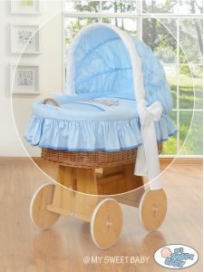 Cover set 4 pcs for Moses Basket/Wicker crib no. 58962-803 or 78962-803