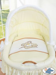 Bedding set 2-pcs for Moses Basket/ Wicker crib no. 58962-804 or 78962-804