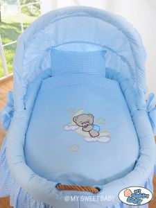 Bedding set 2-pcs for Moses Basket/ Wicker crib no. 58962-807 or 78962-807