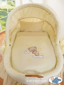Bedding set 2-pcs for Moses Basket/ Wicker crib no. 58962-810 or 78962-810