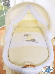 Bedding set 2-pcs for Moses Basket/ Wicker crib no. 58962-813 or 78962-813