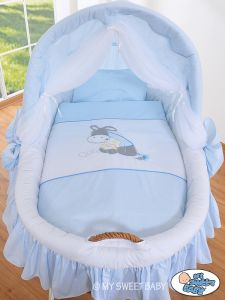 Bedding set 2-pcs for Moses Basket/ Wicker crib no. 58962-815 or 78962-815