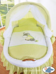 Bedding set 2-pcs for Moses Basket/ Wicker crib no. 58962-816 or 78962-816