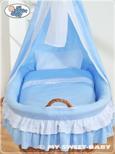Bedding set 2-pcs for Moses Basket/Wicker crib no. 59582-109 or 79582-109