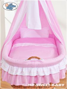Bedding set 2-pcs for Moses Basket/Wicker crib no. 59582-119 or 79582-119