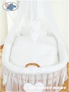 Bedding set 2-pcs for Moses Basket/Wicker crib no. 59582-123 or 79582-123