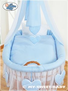 Bedding set 2-pcs for Moses Basket/Wicker crib no. 59582-134 or 79582-134