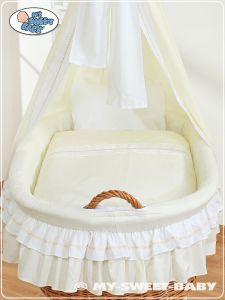 Bedding set 2-pcs for Moses Basket/Wicker crib no. 59582-135 or 79582-135