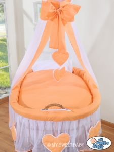 Bedding set 2-pcs for Moses Basket/Wicker crib no. 59582-292 or 79582-292