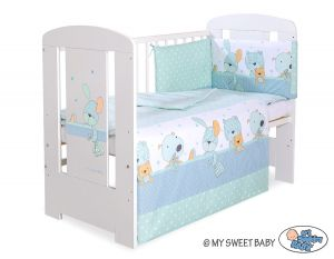 Bedding set 3-pcs- Dreamy bunny mint