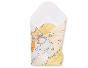 Baby nest with stiffenig- Basic Forest animals cream