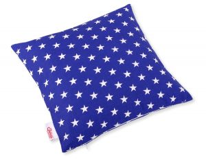 Pillow case - Stars dark blue
