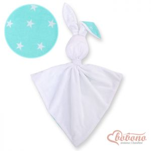 Cuddly rabbit double-sided- Mint stars