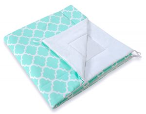 Double-sided teepee playmat- Marocco mint