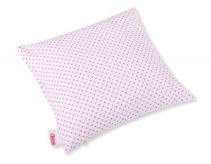 Pillow case - pink dots