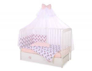 Bedding set 5-pcs with mosquito-net - little doggies