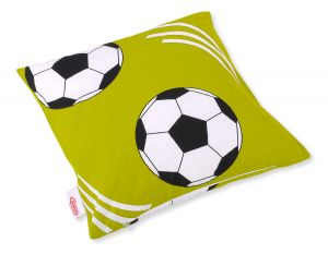 Pillow case -  Football green