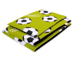 Bedding set 2pcs 100x135 Mini - Football green