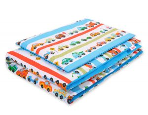 Bedding set 2pcs 100x135 Mini - blue cars