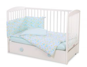 Bedding set 3-pcs - blue buterflies