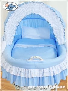 Bedding set 2-pcs for Moses Basket/ Wicker crib no. 58962-109 or 78962-109