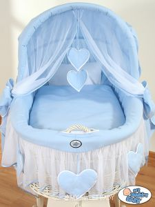 Bedding set 2-pcs for Moses Basket/ Wicker crib no. 58962-134 or 78962-134