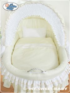 Bedding set 2-pcs for Moses Basket/ Wicker crib no. 58962-135 or 78962-135
