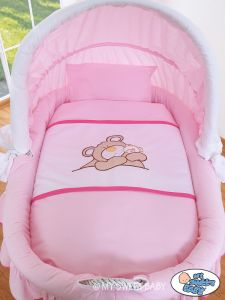 Bedding set 2-pcs for Moses Basket/ Wicker crib no. 58962-800 or 78962-800