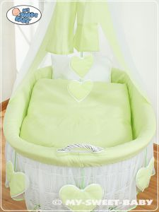 Bedding set 2-pcs for Moses Basket/Wicker crib no. 59582-239 or 79582-239