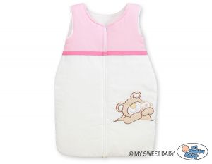 Sleeping bag- Teddy Bear Barnaba pink