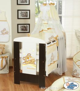 Canopy made of chiffon- Teddy Bear Barnaba cream