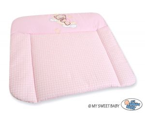 Soft changing mat- Good night pink