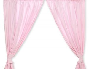 Curtains for baby room- Good night pink